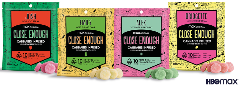 photo of HBO Partners With Kanha Cannabis Gummies For 'Close Enough' Promotion image